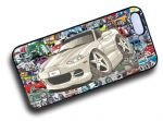 Koolart STICKERBOMB STYLE Design For Mazda MX5 Hard Case Cover Fits Apple iPhone 4 & 4s